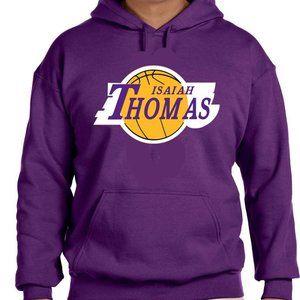 Los Angeles Lakers Isaiah Thomas Hooded Sweatshirt